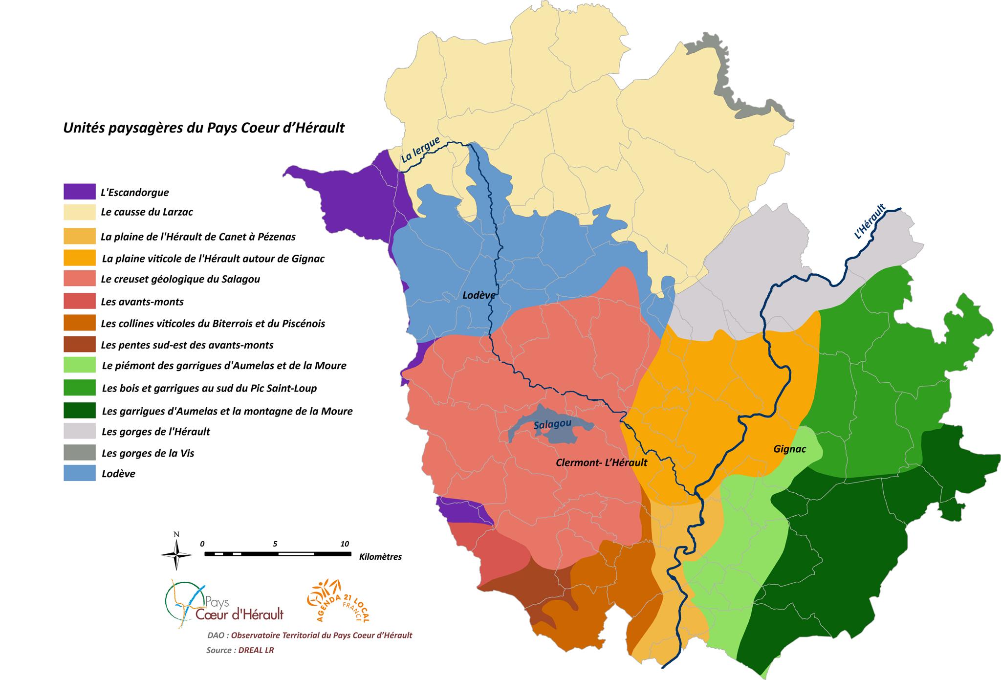 Unités Paysagères