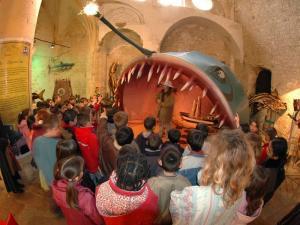"""Exposition """"Jules Verne"""" 2005 - Chapelle des pénitents d'Aniane (Pierre Fadat)"""