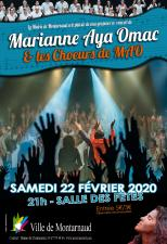 Concert Marianne Aya Omac Montarnaud