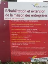 Réabilitation de la Maison des Entreprises du Coeur d'Hérault