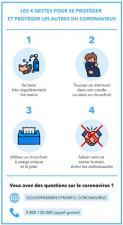 4 gestes pour se protéger du COVID-19