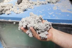 Ouate de cellulose - Bâtiment biosourcé