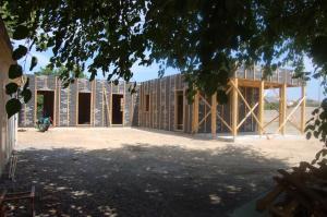 Crèche éco-construire à Saint Pargoire, Familles Rurales - Gilles Amblard