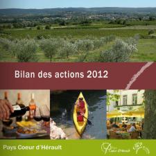bilan 2012 des actions du sydel pays coeur d'hérault
