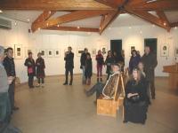 Salle d'exposition du Village des Arts et Métiers d'Octon
