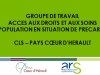 Diapositive  accès aux droits et aux soins Coeur d'Hérault