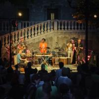 """Ambiance au festival """"Les Nuits Couleurs"""""""